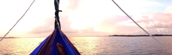 Sunrise in Eno