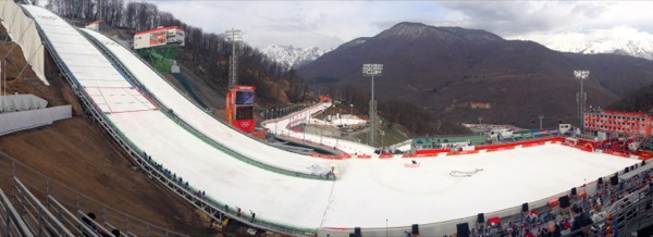 Ruski Gorky Ski Jump Center