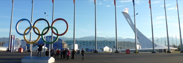 Olympic Rings and Torch