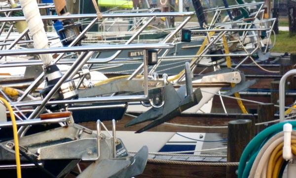Boats bows